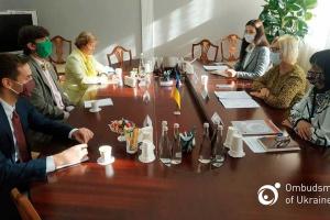 Омбудсмен попросила радника посольства США про всебічну підтримку Марківа