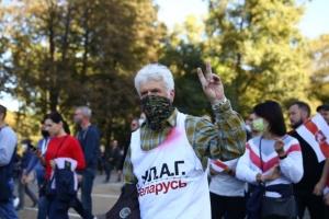 """У Мінську проводили """"Забіг вільних"""", учасників почали затримувати на другому колі"""