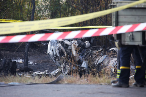 Państwowe Biuro Śledcze sprawdza cztery wersje przyczyn katastrofy samolotu w obwodzie charkowskim