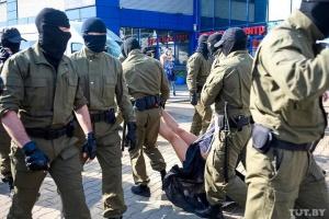 На жіночому марші в Мінську затримали журналісток