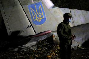 Se estrella un avión de las Fuerzas Armadas de Ucrania cerca de Járkiv