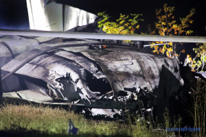 Кучер назвав три версії причин катастрофи літака ЗСУ на Харківщині