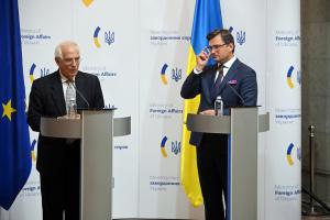 Кулеба і Боррель обговорили підготовку до саміту Україна-ЄС