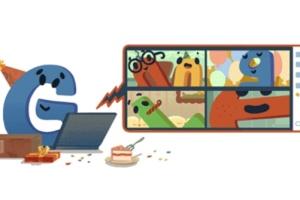 Google присвятив дудл своєму дню народження