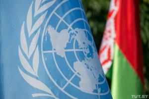 """Глава МИД Беларуси заявляет в ООН о попытках навязать стране """"цветную революцию"""""""