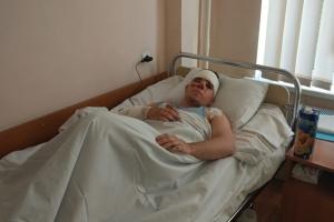 Врачи рассказали о состоянии курсанта, выжившего в авиакатастрофе на Харьковщине