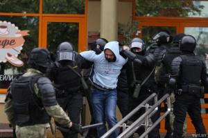 Правозащитники заявили о 265 задержанных сегодня на акциях протеста в Беларуси