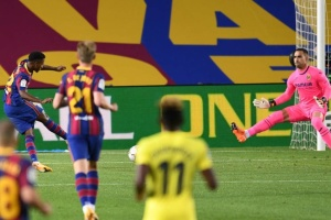 «Барселона» начала сезон с победы над «Вильярреалом»