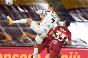 """Дубль Роналду не допоміг """"Ювентусу"""" перемогти """"Рому"""" в італійській Серії А"""