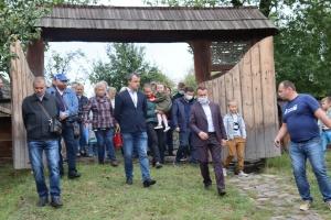 В Ужгородском скансене открыли Трансильванские ворота