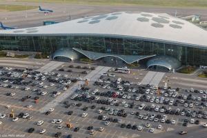 Міжнародний аеропорт Баку перейшов на обмежений режим роботи