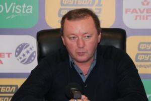 Шаран - кращий тренер 4 туру чемпіонату України з футболу