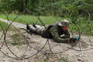 Украинские саперы прошли специальный курс учений в Германии