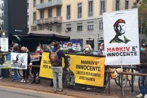 В Італії розпочали розгляд апеляції у справі Марківа: українська громада провела акцію підтримки