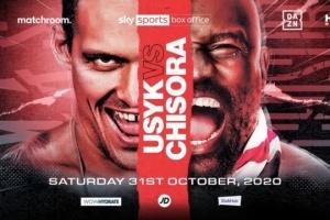 Boxen: Usyk unterschreibt Vertrag für Kampf gegen Chisora