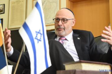 Israeli ambassador arrives in Uman to review preparations for Rosh Hashanah