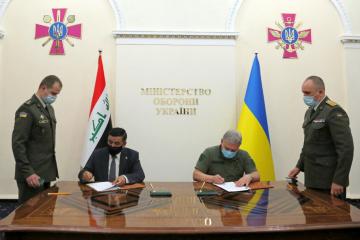 Verteidigungsministerien der Ukraine und des Irak unterzeichnen ein Memorandum