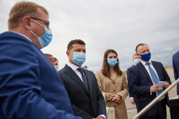 Zelensky: Government to allocate funds for reconstruction of Sumy airport