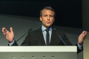 Embajador: Macron puede visitar Ucrania a principios de verano