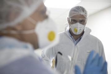 Kyiv reports 879 new coronavirus cases