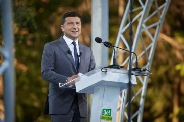 Präsident Selenskyj besucht heute Österreich