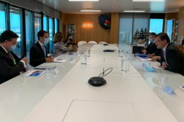 Kuleba invita a las empresas portuguesas a participar en una privatización a gran escala en Ucrania