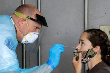 Stepanov: 170 children contracted coronavirus over past day