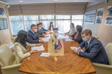 Awakow und britische Botschafterin besprechen Bekämpfung der Cyberkriminalität und Rehabilitation von Veteranen