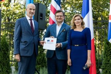 L'Ukraine est officiellement devenue membre du Partenariat de Biarritz