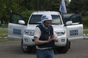 OSCE observes Russian tanks and artillery in violation of withdrawal lines in Donbas