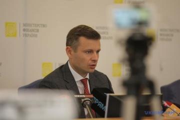 Deficyt budżetowy-2021 zmniejszono o 24 mld po negocjacjach z MFW - Marczenko