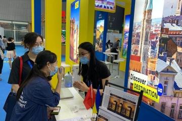 Ucrania presentada en la exposición internacional de turismo en China