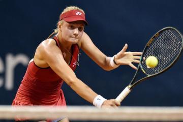 Tennis: Yastremska besiegt Giorgi in Rom