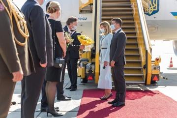 Zelensky llega a Austria en visita oficial