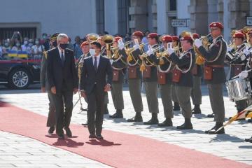 Zelensky est arrivé en Autriche pour une visite officielle