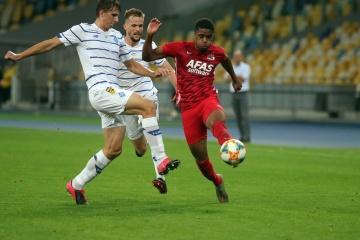 Забарний став другим наймолодшим дебютантом «Динамо» в єврокубках