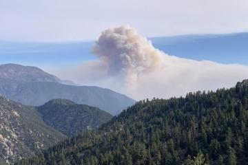 Дим від масштабних пожеж у США досяг Європи