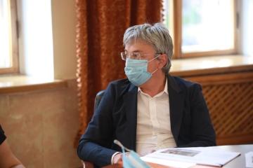 Ткаченко попросил Авакова усилить охрану памятников Революции Достоинства