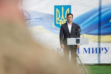 「私たちは、ロシアがもっと平和を望むのを目にしたい」=ゼレンシキー大統領