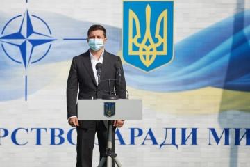 Präsident: Rapid Trident – Übungen ein wichtiger Schritt zur europäischen Integration der Ukraine
