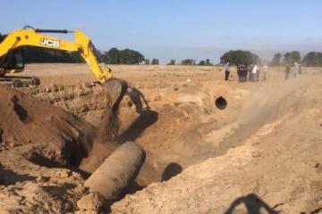 Gasrohrbruch an Pipeline bei Kyjiw behoben, Gaszufuhr wiederhergestellt