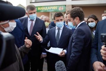 Präsident Selenskyj über Entwicklungspotenzial der Region Iwano-Frankiwsk