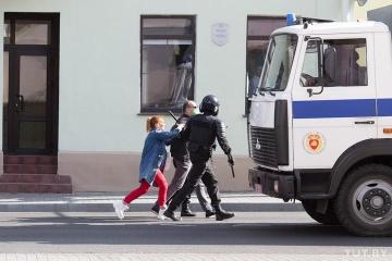Belarus: Innenministerium meldet 442 Festnahmen am Sonntag