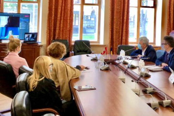 Minister Tkachenko, Canada's ambassador discuss cultural cooperation