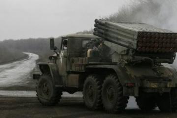 """OBWE znalazła w okupowanym Donbasie ponad 20 niewycofanych """"Gradów"""""""