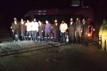 Elf chassidische Juden wollten Grenze illegal überqueren