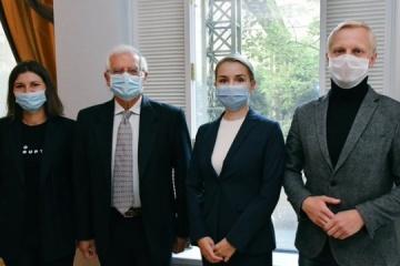 Joseph Borrell commence sa visite en Ukraine