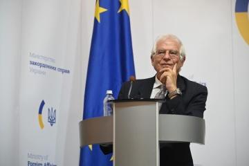 「ウクライナは対話に向け重要な行動をした。露にも同じ努力を行うよう要請する」=ボレルEU上級代表