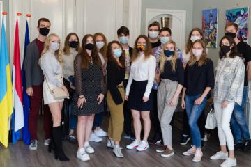 Посол Ченцов зустрівся з учасниками Товариства українських студентів у Нідерландах