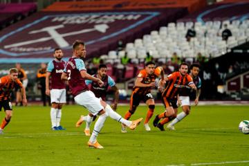 Дубль Ярмоленка допоміг «Вест Гему» пройти «Халл Сіті» в Кубку ліги